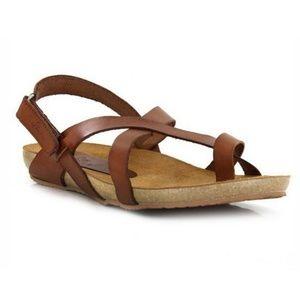 YOKONO Ibizia New Brown Sandals Made in Spain 9